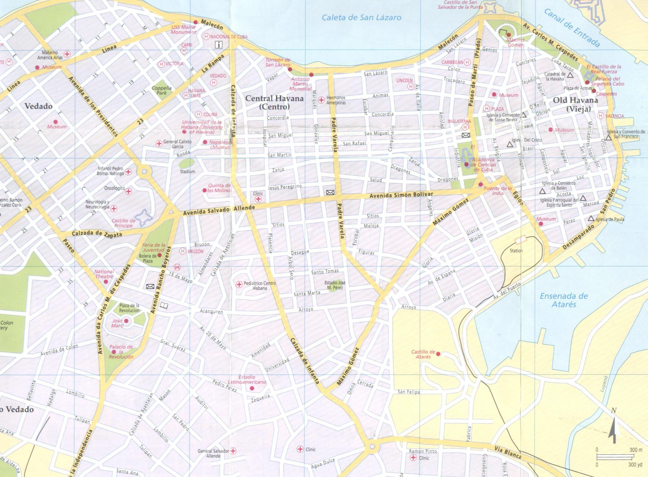 Havana - New World Encyclopedia Havana Map